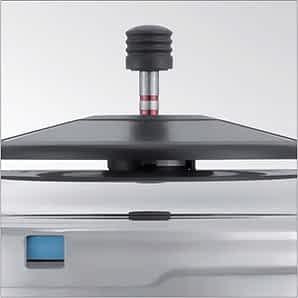 Kuhn Rikon pressure cooker lid closeup