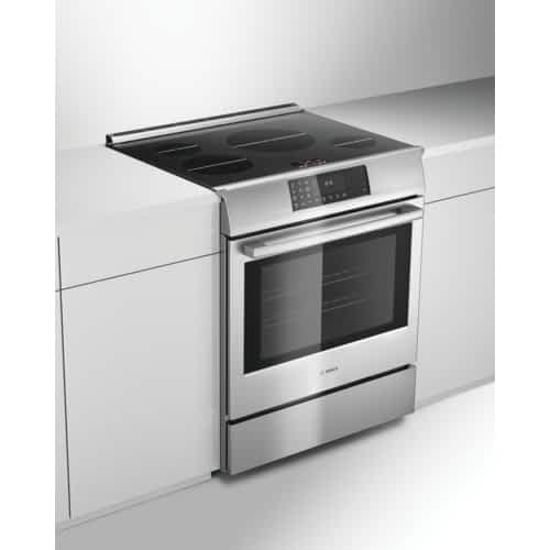 Bosch induction range review installed