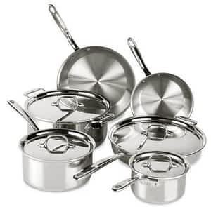 All Clad D3 Everyday 10Pc Set