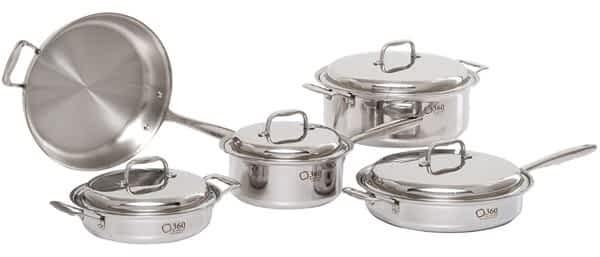 360 Waterless Cookware set