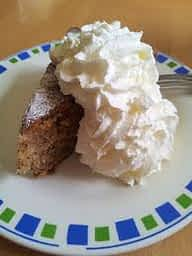 Whipped Cream on Pie