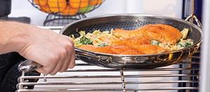Hexclad Skillet in Oven