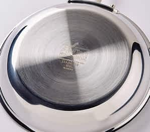 AC D3 skillet bottom side Ultimate All-Clad Review