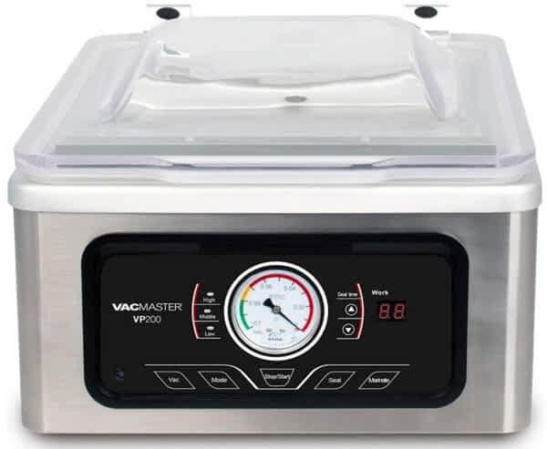 VacMaster VP200 Chamber Vacuum Sealer: VacMaster Vacuum Sealer Reviews: The Best Models for Home Use