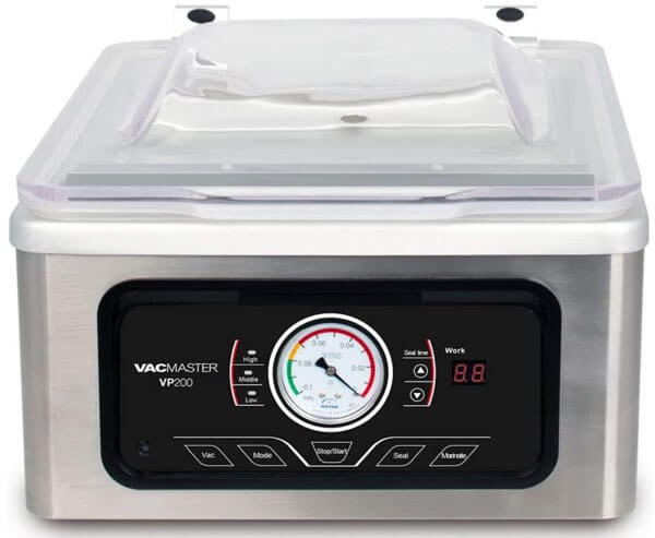 VacMaster VP200 Chamber Vacuum Sealer: VacMaster Vacuum Sealer Reviews: The Best Models for Home Use
