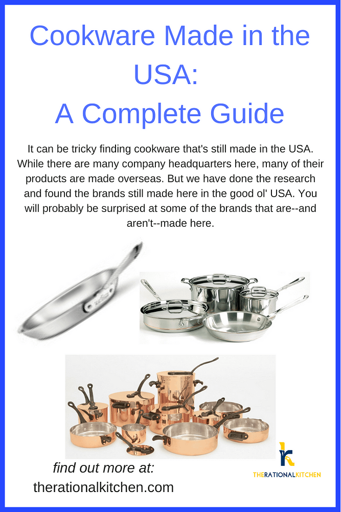 Cookware Made in the USA Pinterest