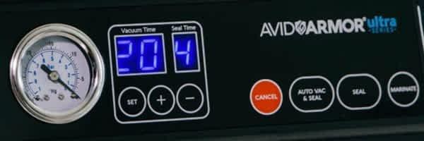 Avid Armor USV32 Control panel