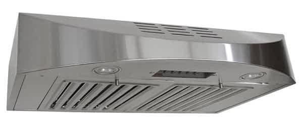 Kobe non-ducted range hood