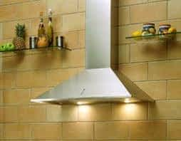 Wall Mount Ceiling Vented Hood