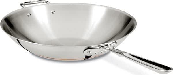 All-Clad Copper Core stir fry pan 14in.