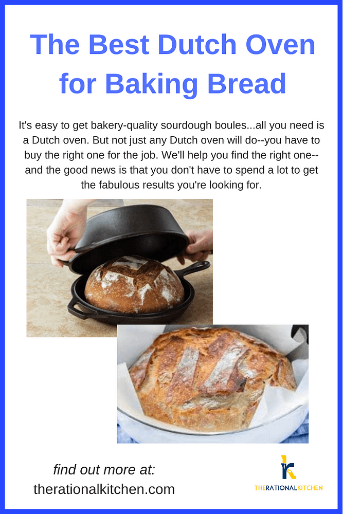 Best Dutch Oven for Baking Bread pinterest