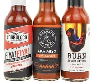 Heatonist hot sauces