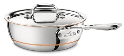 All-Clad Copper Core saucier pan