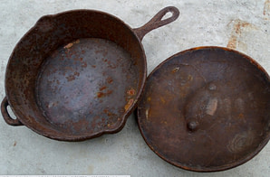rusty cast iron - What is PFOA? A Guide to Chemicals in Nonstick Cookware