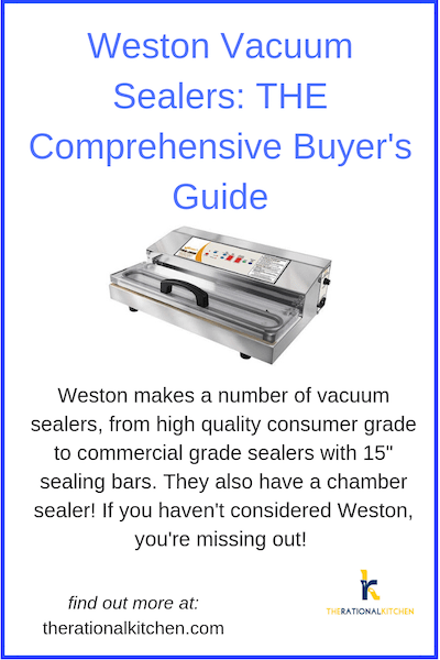Weston Vacuum Sealer Buyer's Guide pinterest