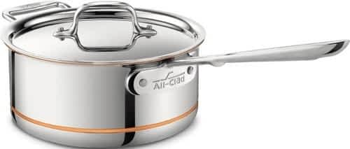All-Clad Copper Core sauce pan