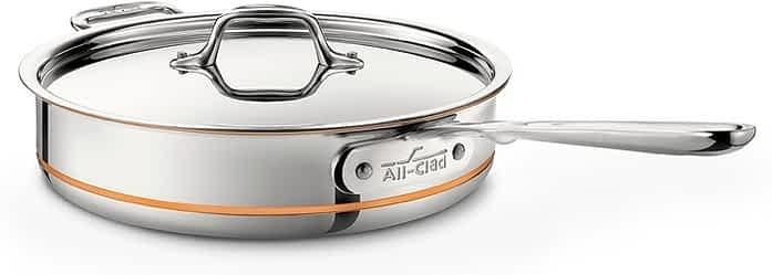 All-Clad Copper Core saute pan