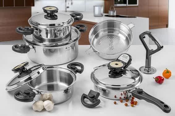 Classica waterless cookware set