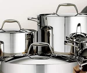 high polish: Tramontina Tri-Ply Clad Stainless Cookware: A Comprehensive Review