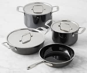 All Clad Fusiontec ceramic-coated cookware