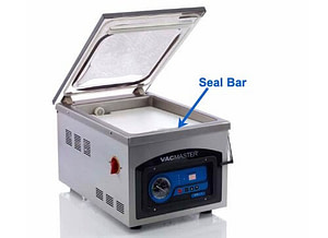 VacMaster VP215 with Seal Bar Callout