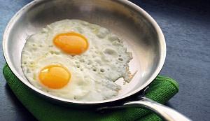 Eggs in Pan Test