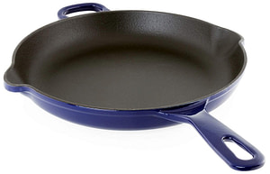 Chantal Cookware Enameled Cast Iron Skillet