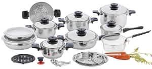 Chef's Secret waterless cookware set