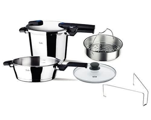 Fissler pressure cooker set