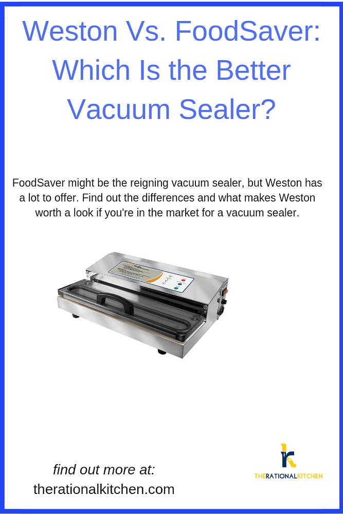 Weston Vacuum Sealers: Better Than FoodSaver? pinterest