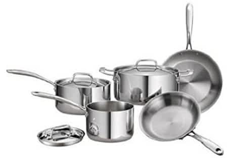 Tramontina Tri-Ply Clad Stainless 8 pc set