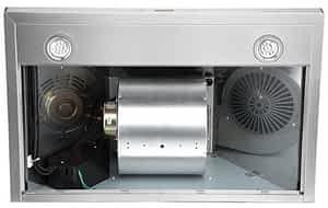 Cavalier fan range hood