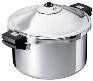Kuhn Rikon Dutch oven pressure cooker