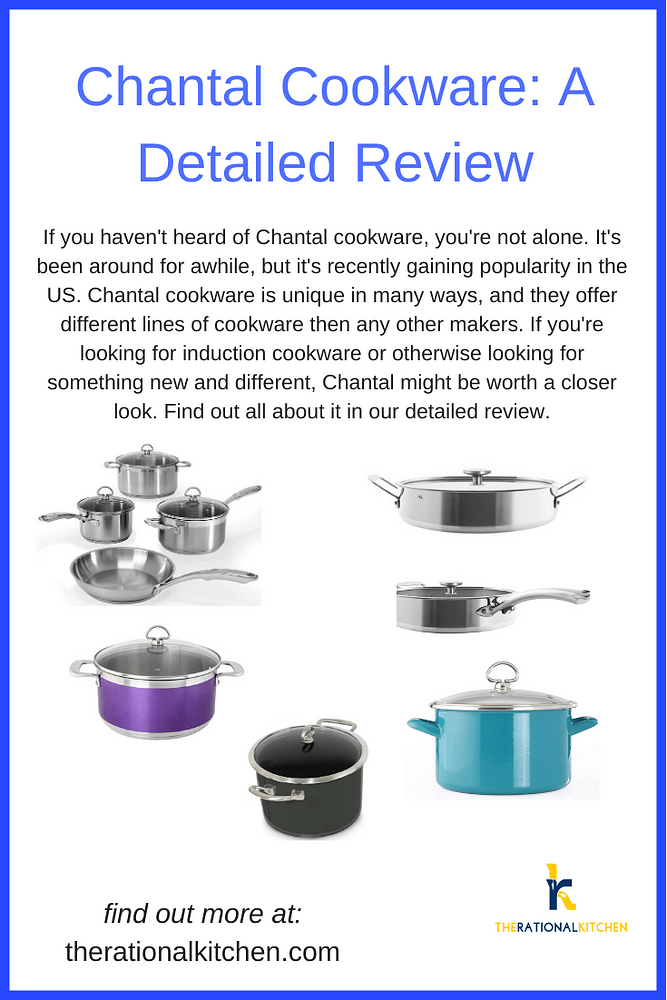 Chantal Cookware Review Pinterest