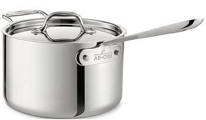 AC D3 Sauce Pan with Helper Handle - All Clad D3 Vs D5: Which Is Better?