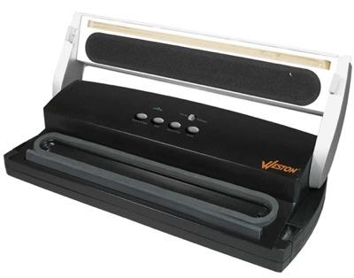 Harvest Guard vacuum sealer, open: Weston Vacuum Sealer Reviews: The Comprehensive Buyer's Guide