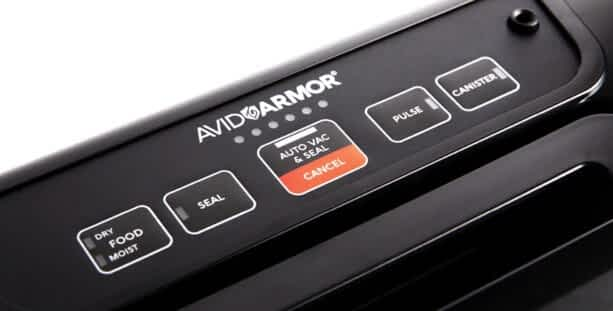 Avid Armor AVS7900 Control Panel