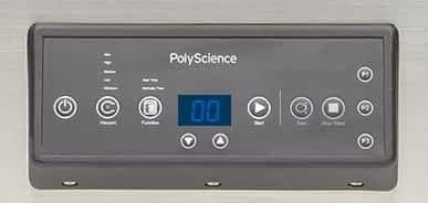 PolyScience 300 control panel: The Best Commercial Vacuum Sealer for Home Use