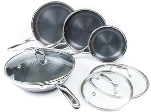 Hexclad 7 Pc Skillet and Wok Set - Hexclad Cookware Review: The Best Nonstick on the Market?