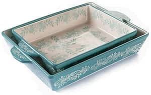 Velluto 100% ceramic (stoneware) baking dishes