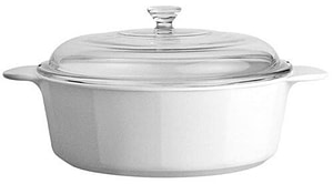 Corningware Baking Dish--stoneware cookware