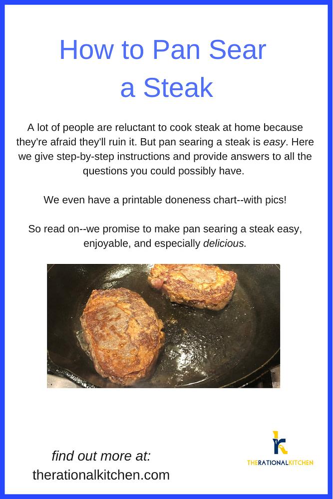 How to Pan Sear a Steak