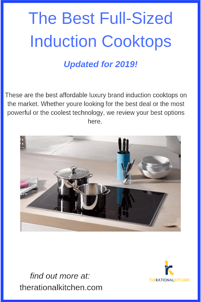 Best Full-Sized Induction Cooktops Updated for 2019 pinterest