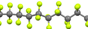 PTFE Teflon Molecule
