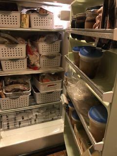food freshness labels freezer