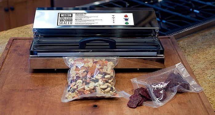 Pro2300 vacuum sealer with food: Weston Vacuum Sealer Reviews: The Comprehensive Buyer's Guide