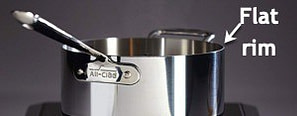 AC D3 Sauce Pan with Rim Callout - All Clad D3 Vs D5: Which Is Better?