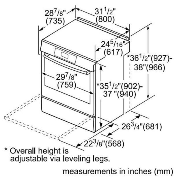 Bosch Induction Range Reviews