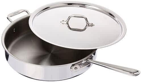 All Clad D3 saute pan