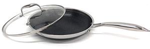 Hexclad Skillet w/Lid - Hexclad Cookware Review: The Best Nonstick on the Market?